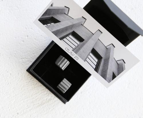 Celsius 273 | Nacionalinio M.K. Čiurlionio dailės muziejaus pastato auskarai