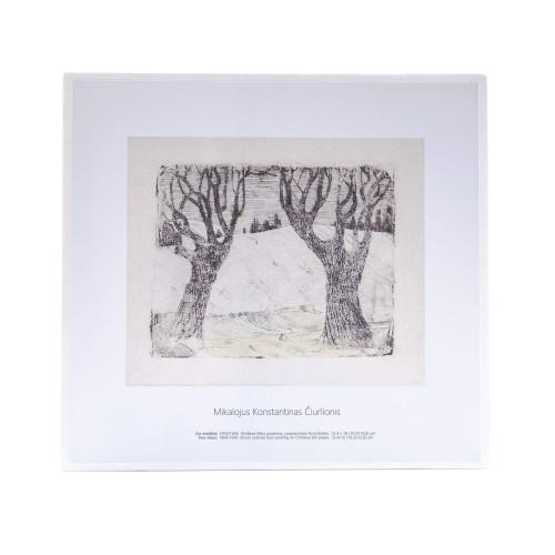 M. K. Čiurlionis. Du medžiai