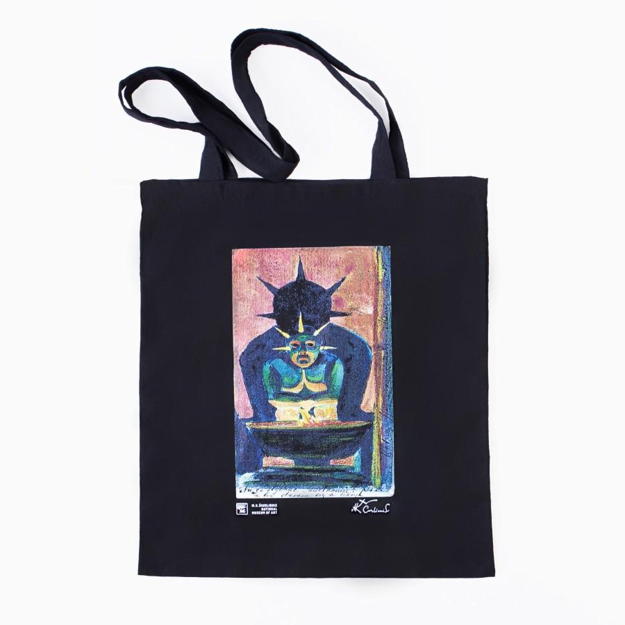 """Pirkinių maišelis M. K. Čiurlionis """"Rytų dievas"""""""