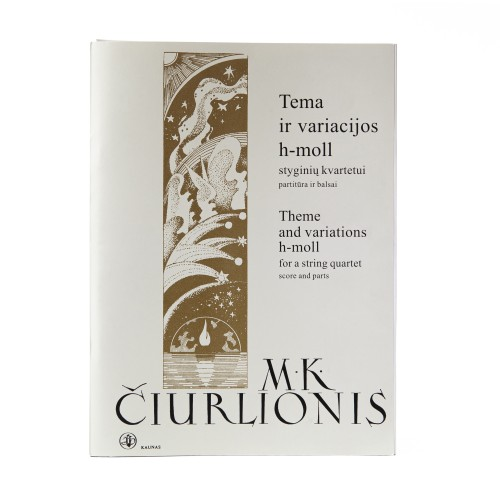 Tema ir variacijos h – moll. M. K. Čiurlionis