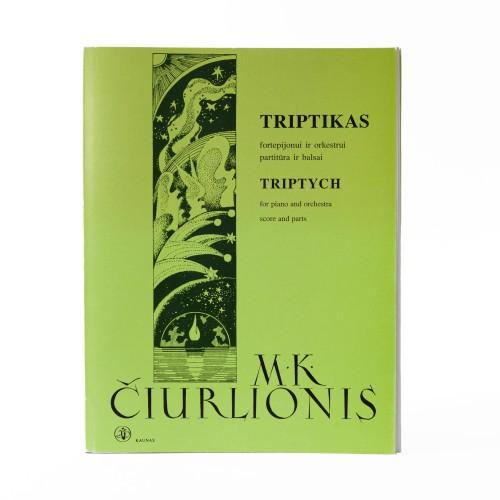 Triptikas fortepijonui ir orkestrui. M. K. Čiurlionis