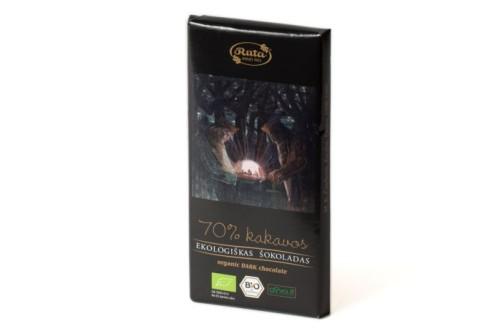 Ekologiškas juodasis šokoladas