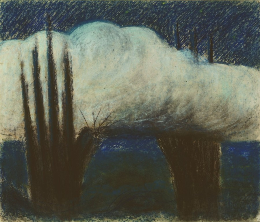 """M. K. Čiurlionis. Vakaras. III iš 4 paveikslų ciklo """"Para"""""""