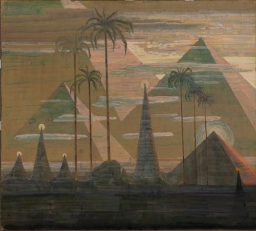 M. K. Čiurlionis. Sonata Nr.7 (Piramidžių sonata). Andante