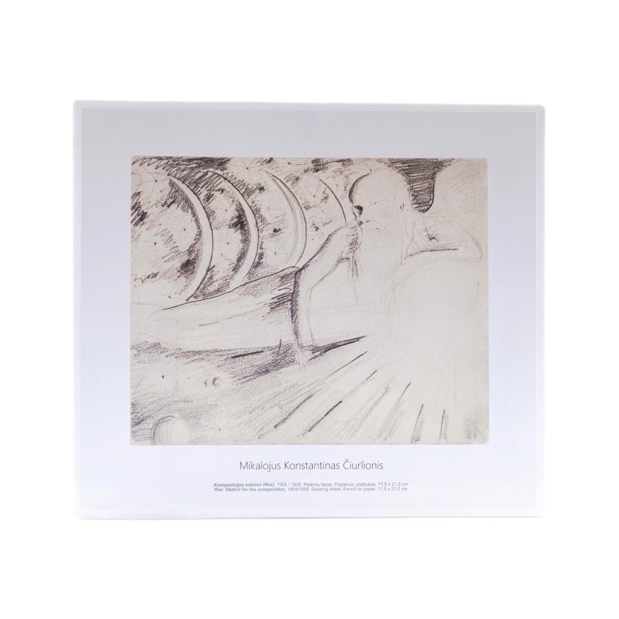 M. K. Čiurlionis. Kompozicijos eskizas (Rex)