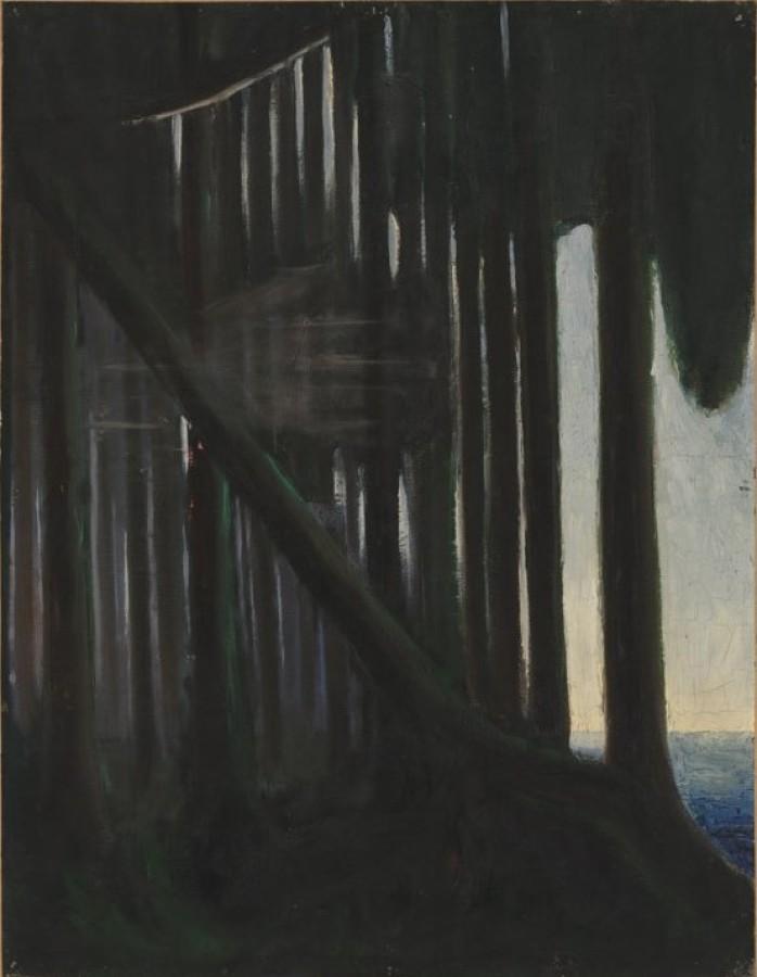 M. K. Čiurlionis. Miško ošimas