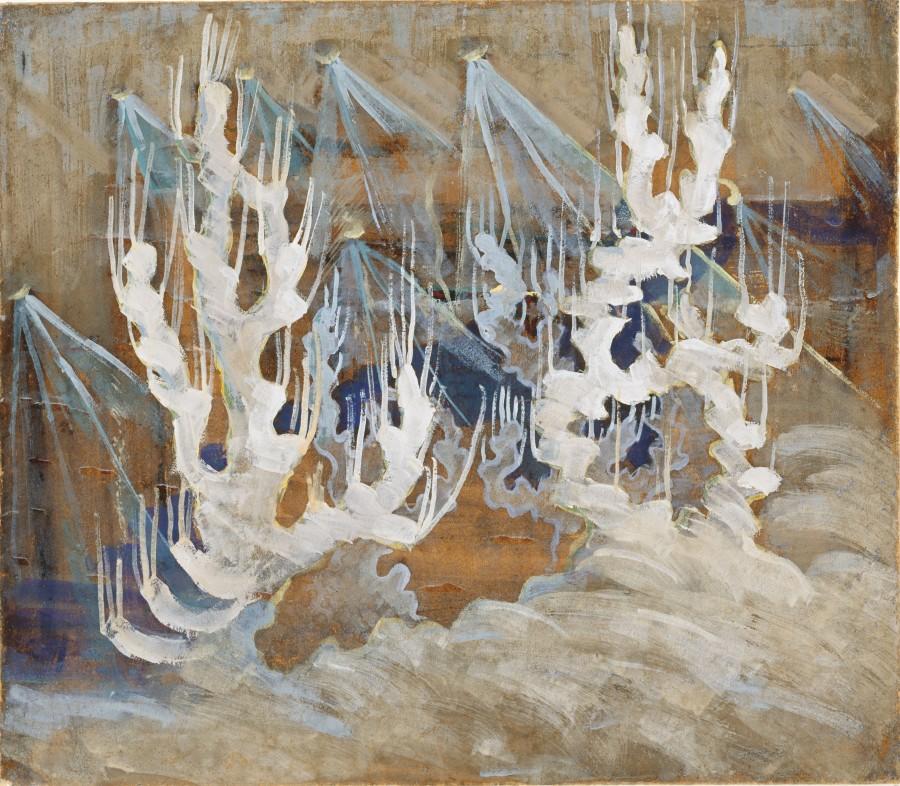 M. K. Čiurlionis. Žiema II
