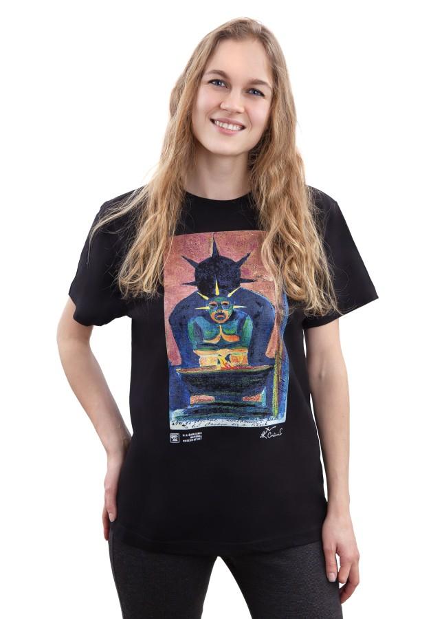 """Marškinėliai M. K. Čiurlionis """"Rytų Dievas"""""""