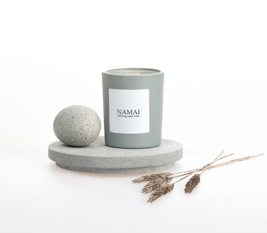 """Sojų vaško žvakė """"Namai"""", 90ml"""