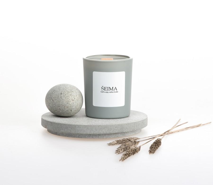 """Sojų vaško žvakė """"Šeima"""", 90ml"""