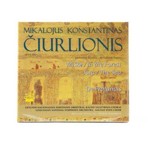 Simfoninės poemos Miške, Jūra. Kantata De profundis. M. K. Čiurlionis (1875 – 1911)